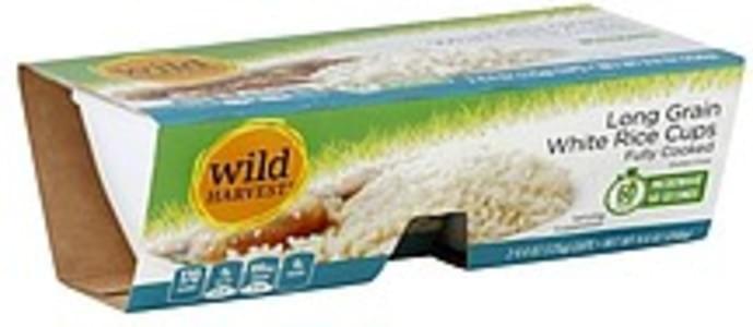 Wild Harvest White Rice Cups Long Grain