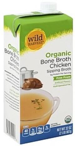 Wild Harvest Bone Broth Organic, Chicken