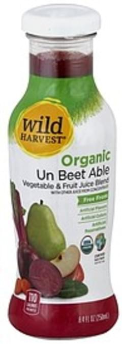 Wild Harvest Vegetable & Fruit Juice Blend Organic, Un Beet Able