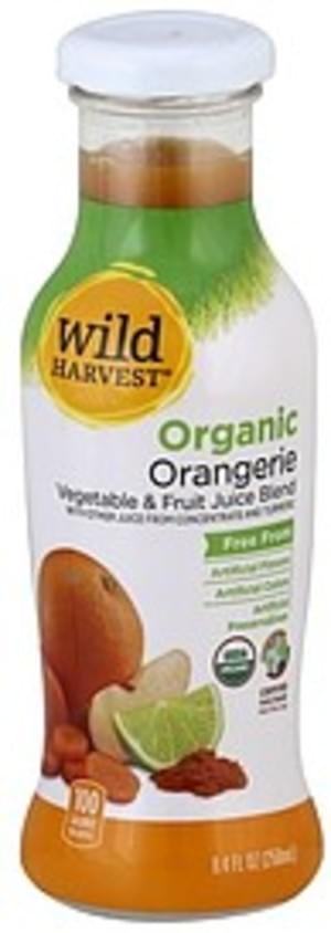 Wild Harvest Organic, Orangerie Vegetable & Fruit Juice Blend - 8.4 oz