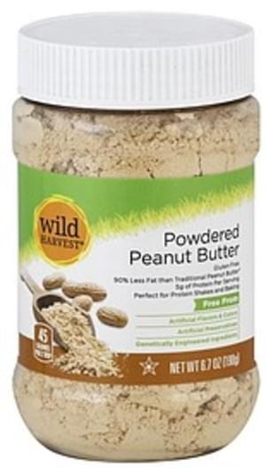 Wild Harvest Powdered Peanut Butter - 6.7 oz