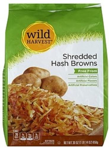 Wild Harvest Shredded Hash Browns - 30 oz