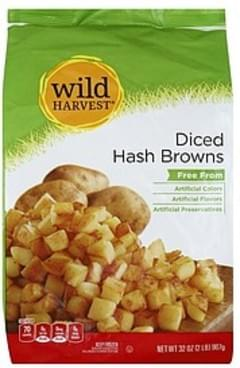 Wild Harvest Hash Browns Diced