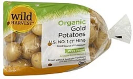 Wild Harvest Potatoes Gold, Organic