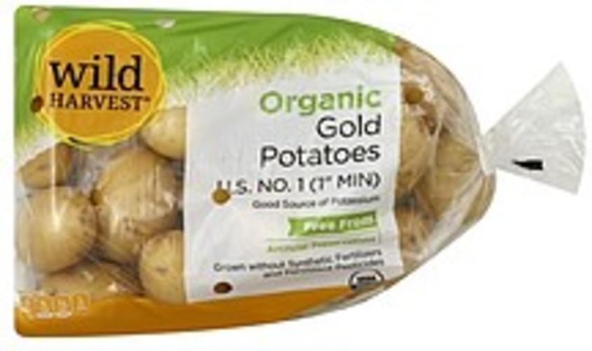 Wild Harvest Gold, Organic Potatoes - 48 oz