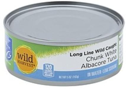 Wild Harvest Albacore Tuna Chunk White