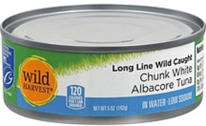 Wild Harvest Chunk White Albacore Tuna - 5 oz