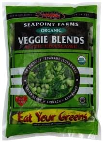 Seapoint Farms Veggie Blends with Edamame, Organic, Eat Your Greens