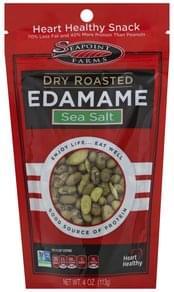 Seapoint Farms Edamame Sea Salt, Dry Roasted