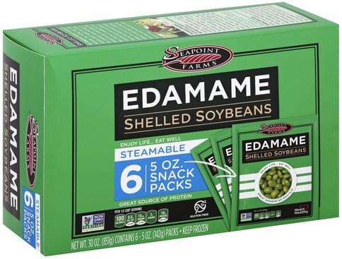 Seapoint Farms Shelled Edamame - 6 ea