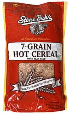 Stone Buhr 7-Grain Hot Cereal with Flax Seed