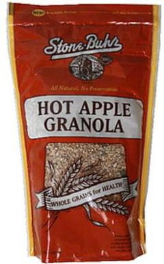 Stone Buhr Granola Hot Apple