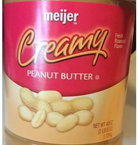 Meijer Peanut Butter Creamy