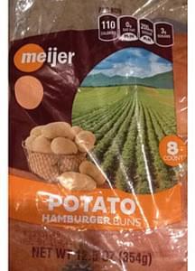 Meijer Potato Hamburger Buns