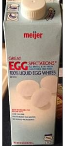 Meijer Liquid Egg Whites