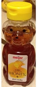 Gunters Pure, Clover Honey - 12 oz, Nutrition Information