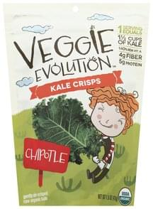 Veggie Evolution Kale Crisps Chipotle