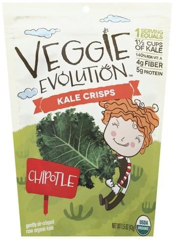 Veggie Evolution Chipotle Kale Crisps - 1.5 oz