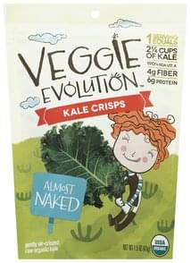 Veggie Evolution Kale Crisps Almost Naked
