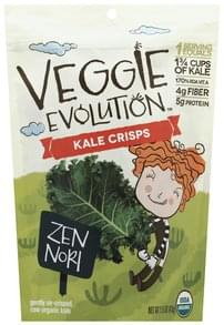 Veggie Evolution Kale Crisps Zen Nori