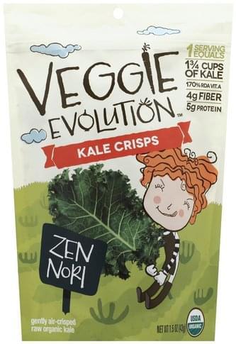 Veggie Evolution Zen Nori Kale Crisps - 1.5 oz