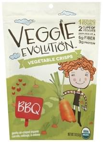 Veggie Evolution Vegetable Crisps BBQ