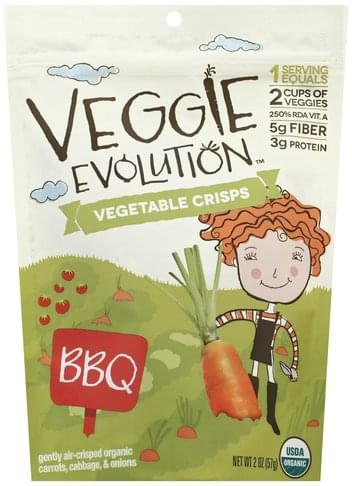 Veggie Evolution BBQ Vegetable Crisps - 2 oz