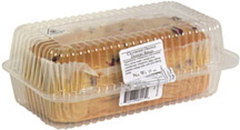 Breadsmith of Skokie Cranberry Orange Dessert Bread - 19 oz