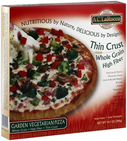 AC LaRocco Garden Vegetable Pizza - 14.1 oz