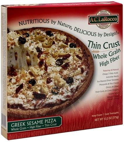 AC LaRocco Greek Sesame Pizza - 13.2 oz