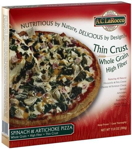 AC LaRocco Spinach & Artichoke Pizza - 13.8 oz