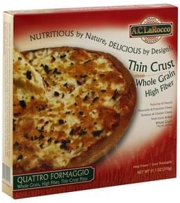 AC LaRocco Pizza Quattro Formaggio, Thin Crust
