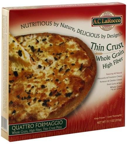 AC LaRocco Quattro Formaggio, Thin Crust Pizza - 11.1 oz