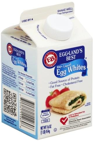 Egglands Best 100% Liquid Egg Whites - 16 oz