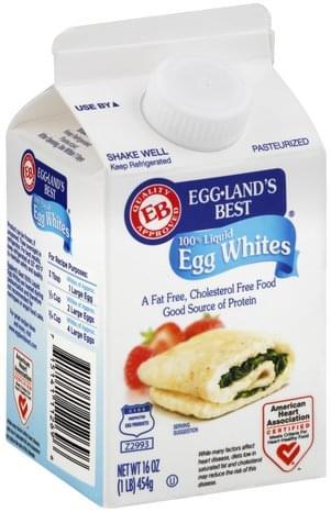 Egglands Best 100% Liquid Egg Whites - 16 oz