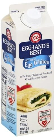 Egglands Best 100% Liquid Egg Whites - 32 oz
