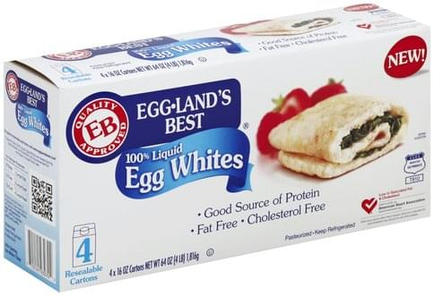 Egglands Best 100% Liquid Egg Whites - 4 ea