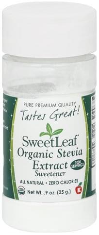 SweetLeaf Organic Stevia Extract - 0.9 oz
