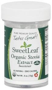 Sweetleaf Stevia Extract Organic