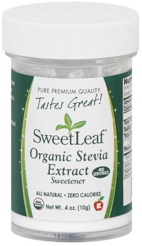 SweetLeaf Organic Stevia Extract - 0.4 oz