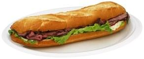 Chef Express Sandwich Roast Beef With Lacey Swiss Submarine
