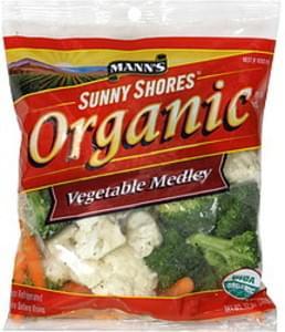 Manns Sunny Shores Vegetable Medley Organic
