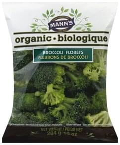 Manns Broccoli Florets Organic
