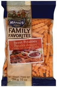 Manns Sweet Potatoes Crinkle Cut