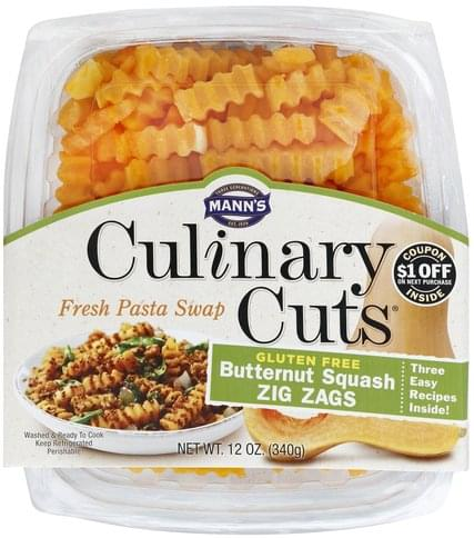 Manns Zig Zags Butternut Squash - 12 oz