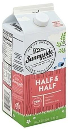 Sunnyside Farms Half & Half