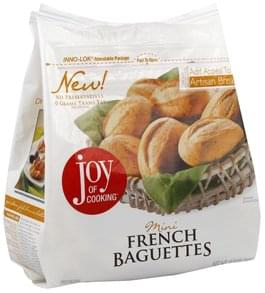 Joy of Cooking French Baguettes Mini
