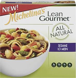 Michelina's Steamer Bowl Lean Gourmet Sesame Lo Mein