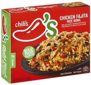 Chilis Rice Bowl Chicken Fajita