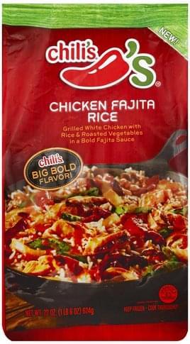 Chilis Chicken Fajita Rice - 22 oz